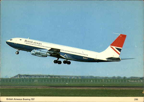 British Airways Boeing 707 Aircraft