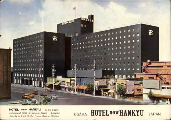 Hotel new Hankyu Osaka Japan