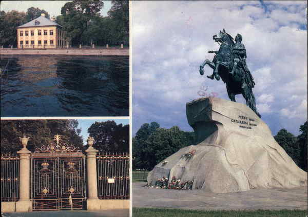 Monument to Peter the Great (1782) - Erected by Catherine the Great St. Petersburg Russia
