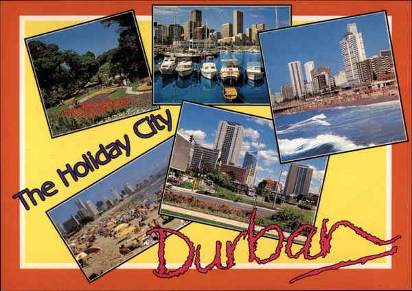 Various Views of City Durban South Africa
