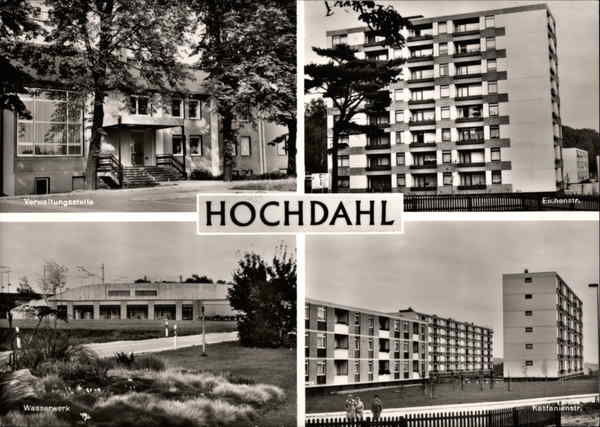 Various View of Modern Buildings Hochdahl Germany