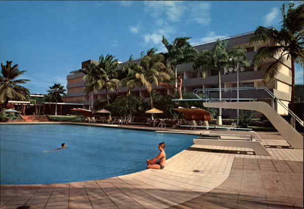 Swimming Pool at Hotel Cumanagoto Venezuela South America