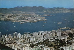 Aerial View of City & Kowloon from the Peak