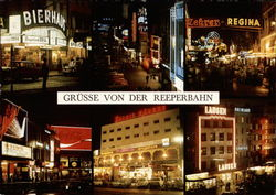 Reeperbahn at Night