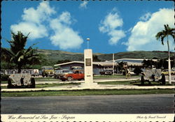 War Memorial at San Jose Postcard