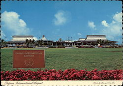 Saipan International Airport Postcard