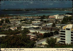 Bird's-eye View of Agana, Guam