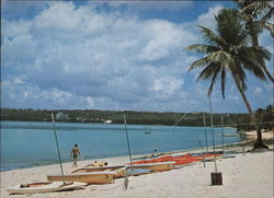 Tumon Bay, View from Ipao Beach Postcard