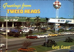Tweed Mall Shopping Centre Postcard