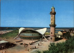 Old Lighthouse and Teepott Postcard