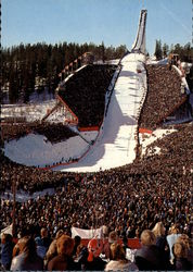 The Holmenskollen Ski Jump