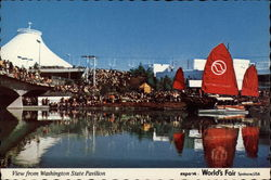 View from Washington State Pavilion - World's Fair 1974