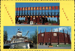 Alaskaland, Fairbanks, Alaska Postcard