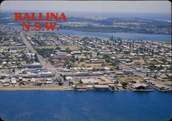 Aerial view of Ballina