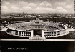Aerial View of Olympic Stadium