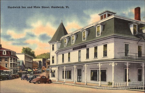 Hardwick Inn and Main Street Vermont