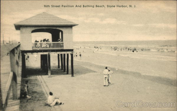 96th Street Pavilion and Bathing Beach Stone Harbor New Jersey