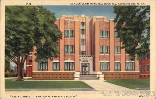 Camden - Clark Memorial Hospital Salaries in Parkersburg ...