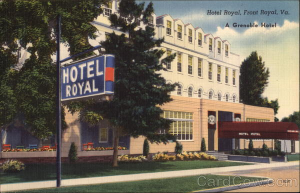 Hotel Royal Front Virginia