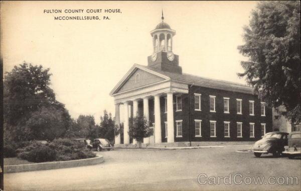 Fulton County Court House McConnellsburg Pennsylvania