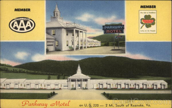 Parkway Motel Roanoke Virginia