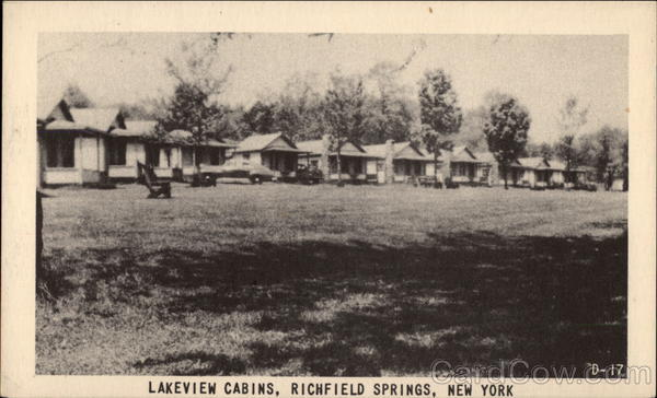Lakeview Cabins Richfield Springs New York
