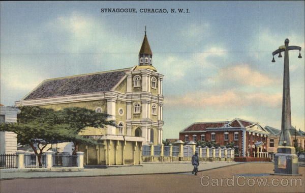 Synagoge Curacao Netherlands West Indies Caribbean Islands