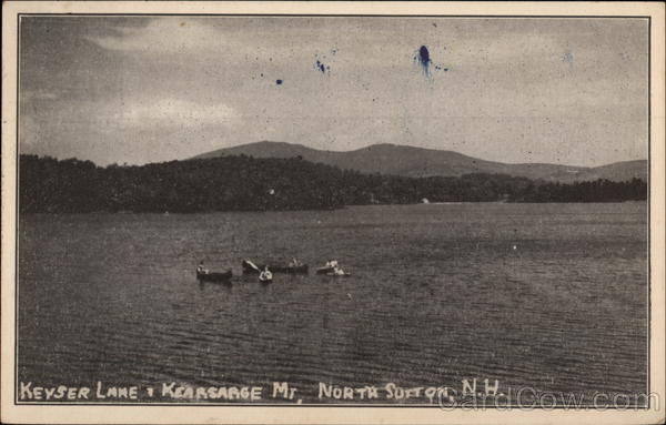 Keyser Lake & Kearsarge Mountain North Sutton New Hampshire