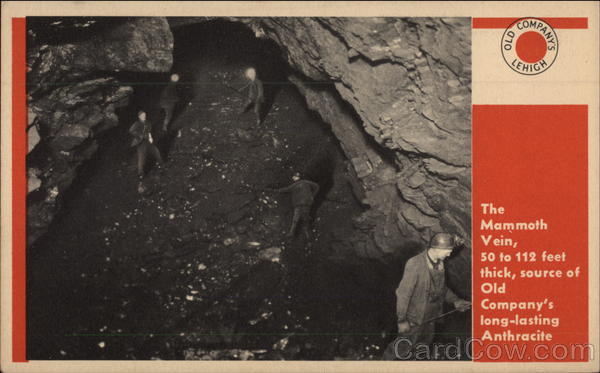 The Mammoth Vein - Coaldale Colliery Pennsylvania Mining