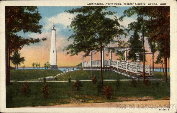 Lighthouse, Northwood, Mercer County Celina Ohio