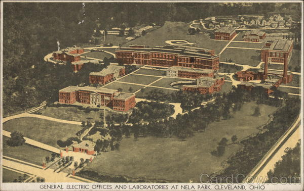 general electric offices and laboratories at nela park cleveland  oh