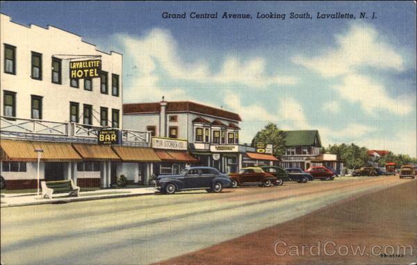 Grand central avenue looking south lavallette nj for Lavallette nj