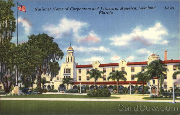 National Home of Carpenters and Joiners of America Lakeland Florida