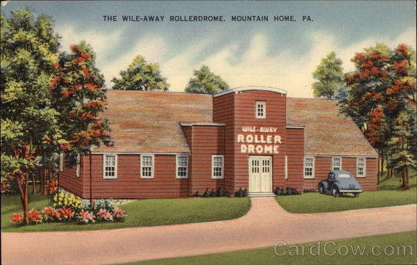 The Wile-Away Rollerdrom Mountain Home Pennsylvania