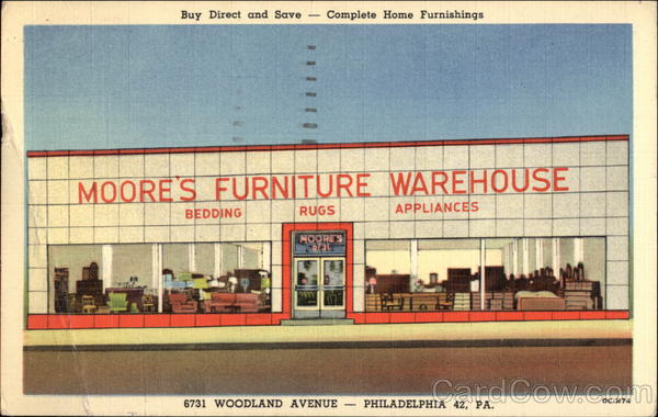 Moore's Furniture Warehouse - Buy Direct and Save - Complete Home Furnishings Philadelphia Pennsylvania