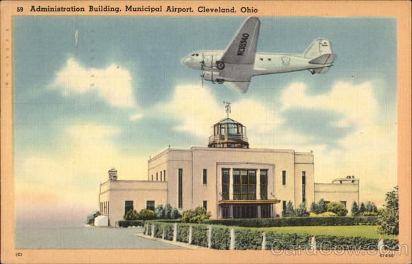 Administration Building, Municipal Airport Cleveland Ohio