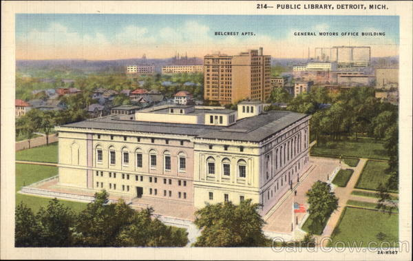 Public Library Detroit Michigan
