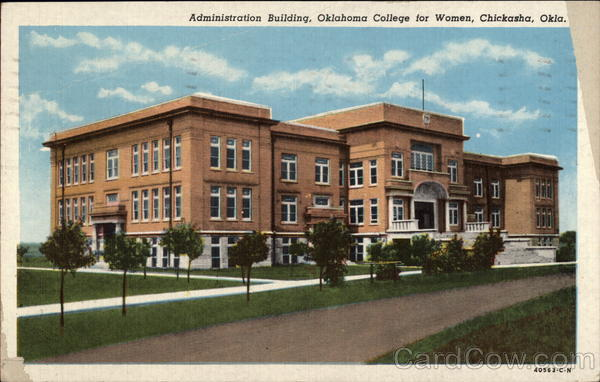 Administration Building, Oklahoma College for Women Chickasha
