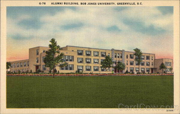 Alumni Building, Bob Jones University Greenville South Carolina