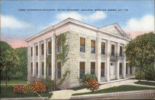 Home Economics Building, State Teachers' College Bowling Green Kentucky