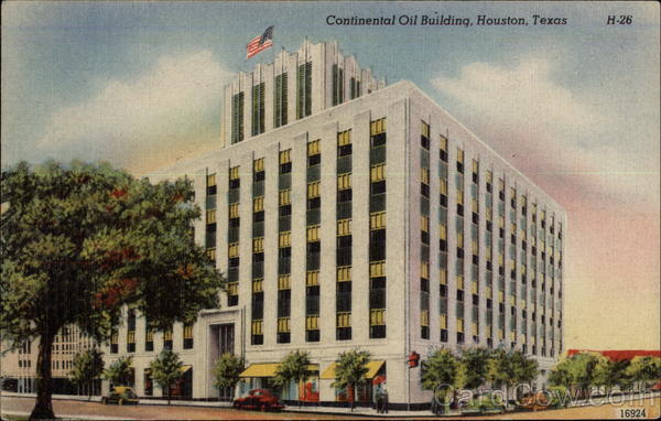 Continental Oil Building Houston Texas