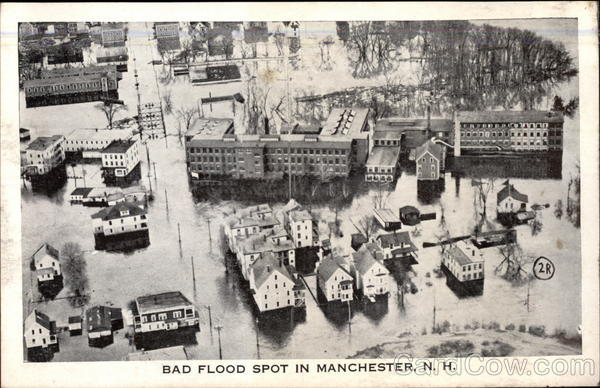 Bad Flood Spot Manchester New Hampshire