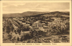 Univeristy of Virginia - Bird's Eye View