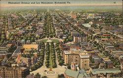Monument Avenue and Lee Monument