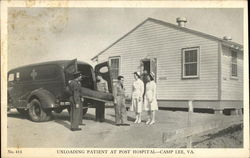 Unloading Patient at Post Hospital