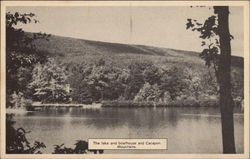 Cacapon State Park - Lake, Baothouse and Cacapon Mountains