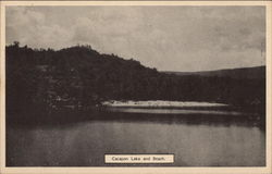 Cacapon Lake and Beach, Cacapon State Park