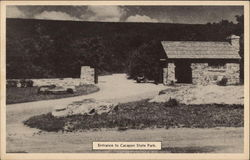 Entrance to Cacapon State Park