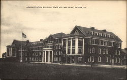 State Welfare Home - Administration Building Postcard