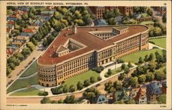 Aerial View of Schenley High School